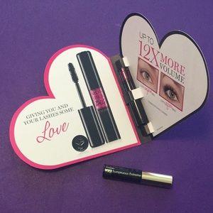 2 new tubes of mascara = Lancôme & Estée Lauder
